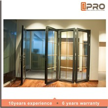 2017 exterior doors aluminum prices double glass folding door