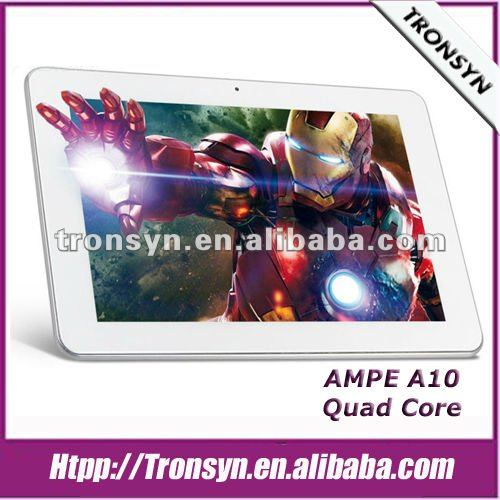 "New Ampe 10.1"" Freescale IMX6Q Quad Core Android Tablet PC With Dual Camera,Bluetooth"