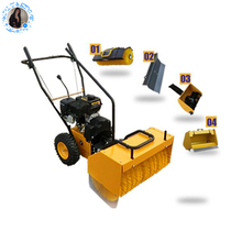 Hand Push Floor Sweeper Mechanical Road Sweeper