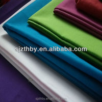 china supplier dyed Plaid Cotton Polyester Blend Fabric Material