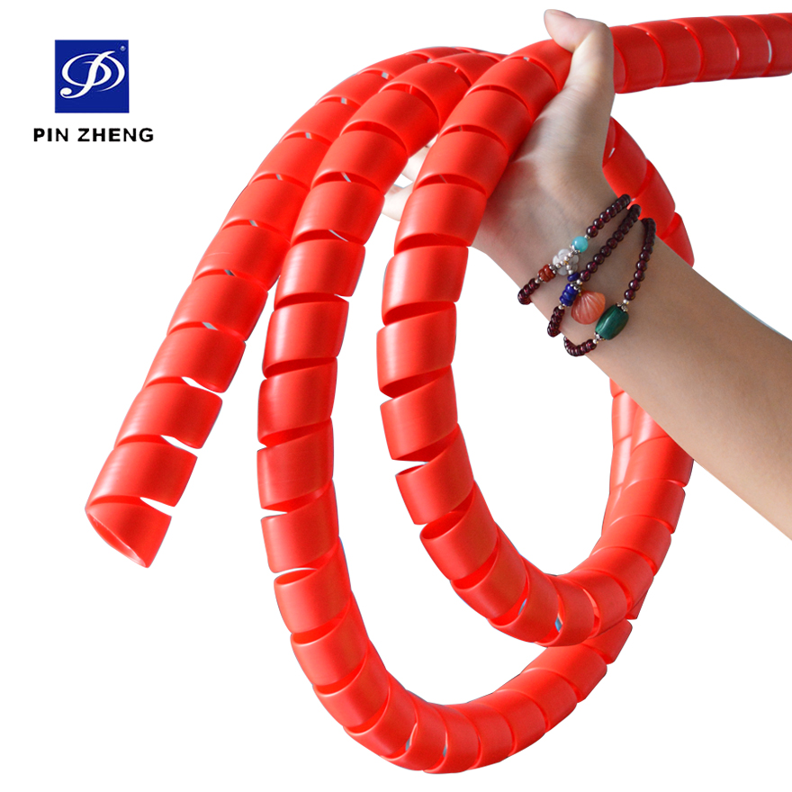 <strong>3</strong>/5&quot;Customized spiral cable wrap band tube hose protector