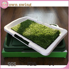 Indoor Puppy Potty Training Pad Three Layers Lawns Cat Dog Pet Toilet Portable Grass Restroom Pet Mat Easy To Clean