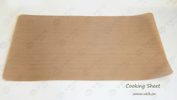 0.14 MM Brown ptfe coated glass fabric EASY CLEAN baking mat