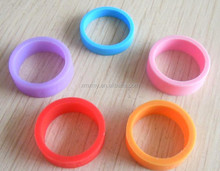 wholesales silicon rubbur customized finger ring