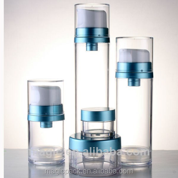 50ml 120ml big volume cosmetic body custom made plastic bottle