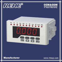 Free Sample Available 160*80mm Multifunction LED Digital Panel Digital Multimeter with RS-485