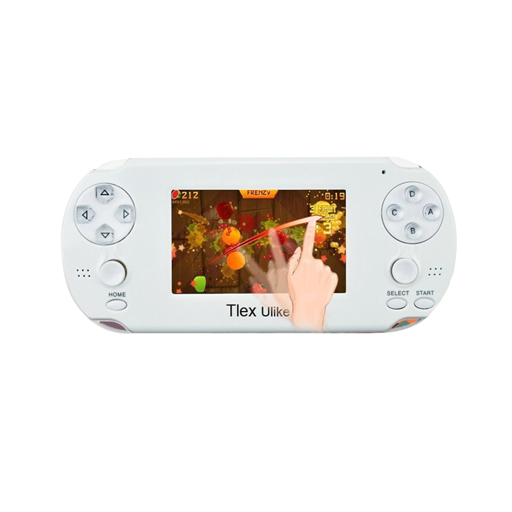 Touch screen handheld video game player for Tlex Ulike support Android 3D games