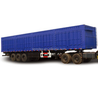 Hot Sale 30T Van Transport Semi Trailer