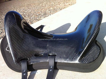 Super lightweight model 100% full carbon fiber endurance saddles for horse racing