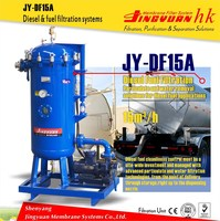 JY-DF15A Large flow diesel oil purification system for generating units with oil-water separation in Middle East
