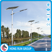 Factory Price LED Street Solar Light Supplied with Solar Panel CE TUV RoHS