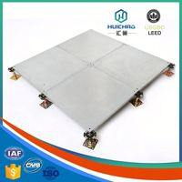 HC/OA Good flatness affordable aluminum honeycomb panel raised access floor system