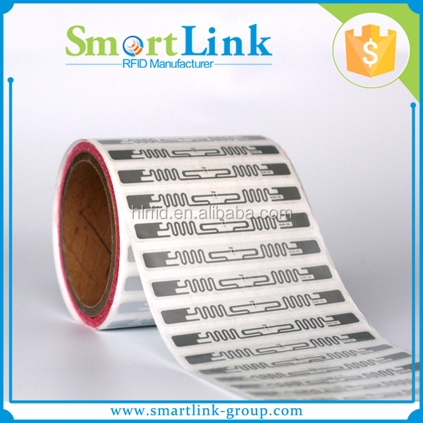 cheap alien H3/H4 UHF Labels Custom Smart Adhesive Long Distance Blank Sticker UHF RFID label for Logistic and Management