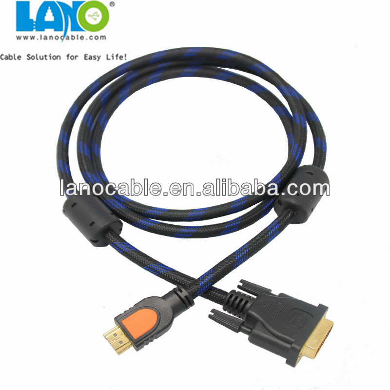 2016 cheap price 1080P HD Video HDMI to DVI/Coaxial Audio cable