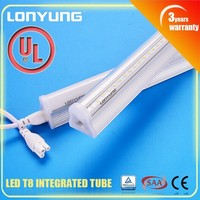 Zhongshan leading factory UL listed led t8 isolated integrated tube light