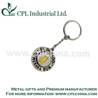 Promotion Metal Spinning Keychain