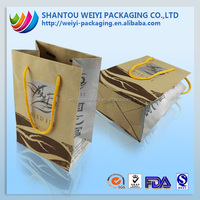 compound handle flat bottom paper bag a4 size