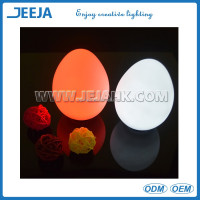Remote Control Color Changing Waterproof glowing LED Egg Light For Table Centerpieces Beauty And The Beast