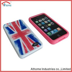 Newest hot selling FDA 3d silicon mobile phone cases