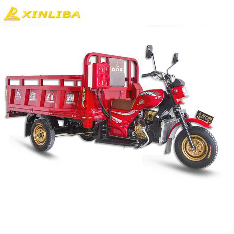 motorized cargo three wheeler freight tricycle