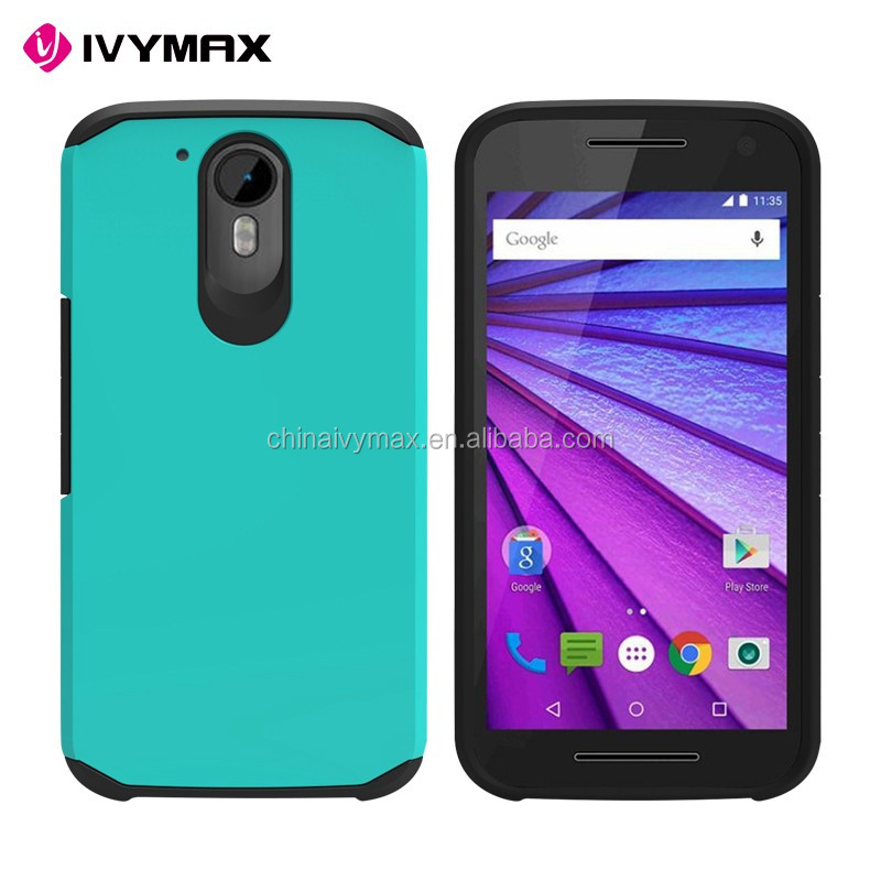 Manufacture mobile phone case covers for Moto G4 plus slim armor back covers