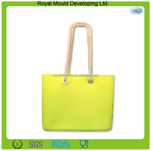 2014 Fashion waterproof silicone rubber beach bag