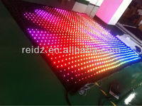 led star cloth vedio displaying, animation, dynamic graphics, texts displaying