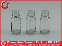 15ml hot clear glass bottles child proof black dripper from famous cosmetics brand packaging .