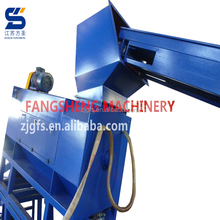 Top quality pet hdpe bottle flakes washing recycling line