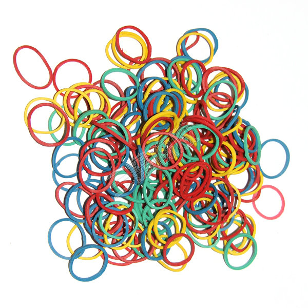 Color rubber bands