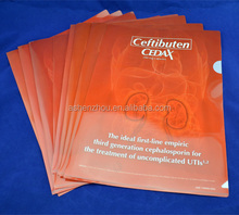 Wholesale high quality custom A4 plastic PP expanding files cheap file folders