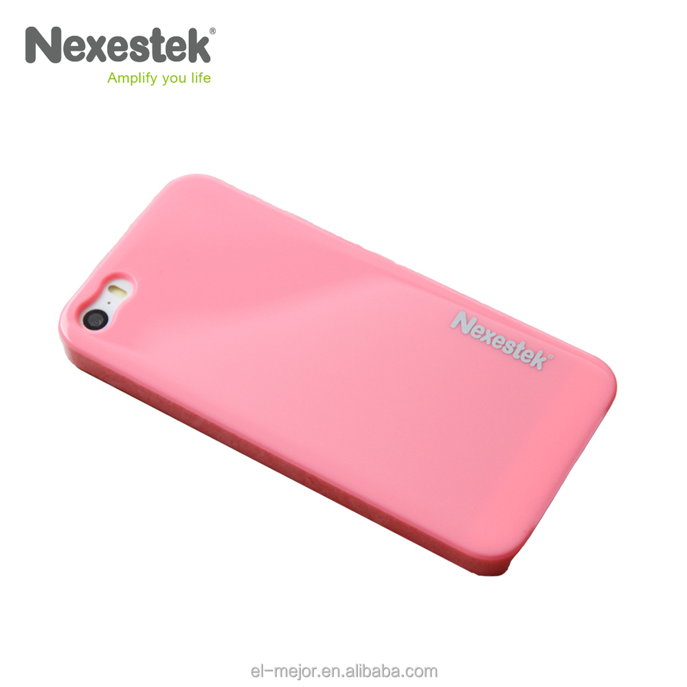 Taiwan Nexestek for iPhone case 5/5S/SE Candy Color Series - Pink