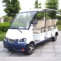 CE Approve Electric 8 Seater Sightseeing Bus for Tourist (DN-8)