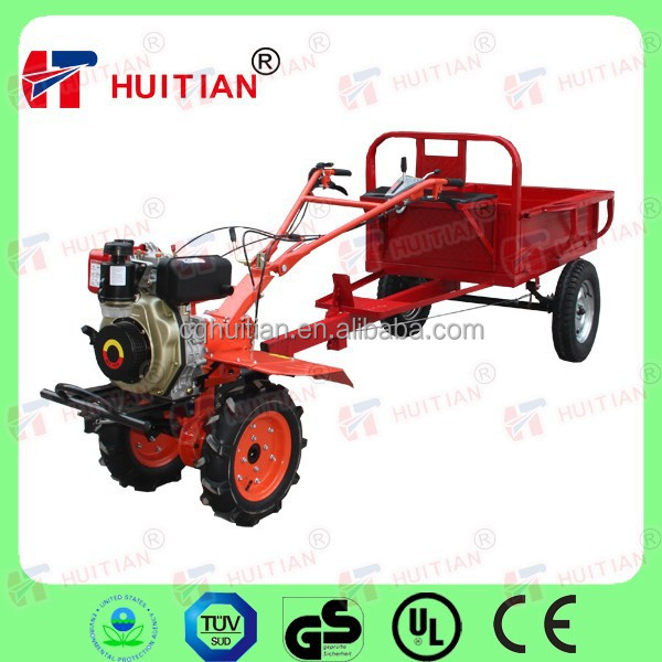 HT105 6HP power tiller trailer