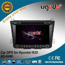 hot sale OEM/ODM CE Certificate car stereo for hyundai IX25 with build in radio/GPS