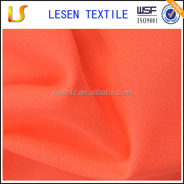 Lesen textile 100% polyester dip dye chiffon for dress