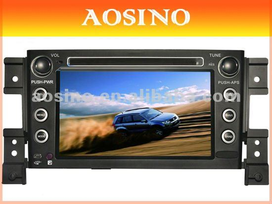 Aosino special car dvd player for SUZUKI GRAND VITARA 2006-2011 with GPS navigation