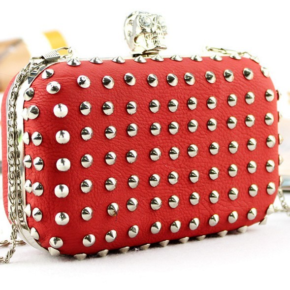 Women Fashion Bridal metal frame clutch Evening Party bags