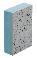 OEM size XPS extruted polystyrene sandwich panel popual exterior wall thermal insulation decoration material