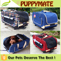 Wholesale pet carrier bags, dog carrier, pet carrier trolley