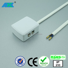 Dongguan FOK energy saving cabling male and female 240v electrical connector