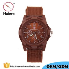2018 Quartz Military watch Men watch Nylon band Gemius Army watch
