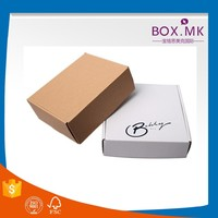 Cute Steel Mail Box White Color Accept Printin High Quality Newest Corrugated Box For Packing