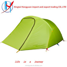 Double Layers and Nylon Fabric 2 Person Trekking Tent tents