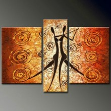3 piece painting 100% handpainted wholesale painting decoration wall art