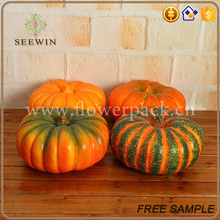 home party decoration small plastic pumpkins