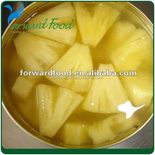 canned pineapple tidbits food product