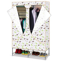 Big size hermetic Oxford cloth portable fabric wardrobe with cover R-135