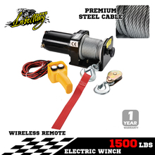 Liteway 4x4 Offroad China 1500Ibs Winch 4x4 12v Electric