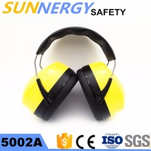 CE EN 352-1 Safety Ear Muff , Adjustable Hearing Protection Safety Earmuff